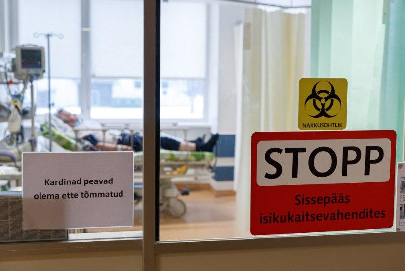 Koroonaviiruse tõttu vajab haiglaravi 288 patsienti, lisandus 1119 uut nakatunut, suri neli inimest