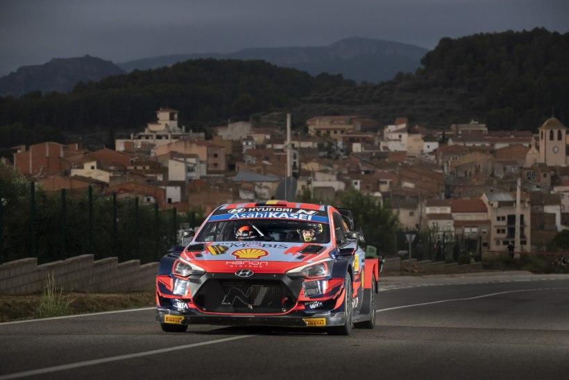 Kataloonia ralli võitis Neuville, maailmameister selgub Monzas