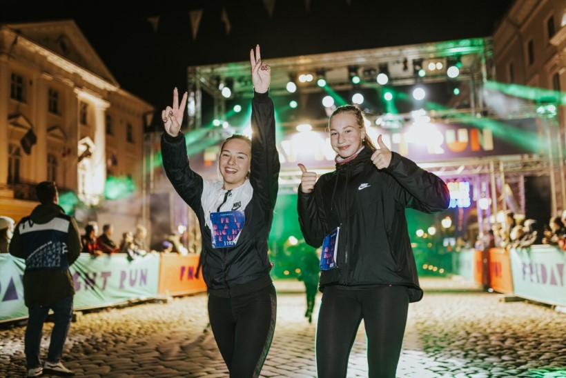 Üle 1000 inimese nautis jooksmist öises ülikoolilinnas