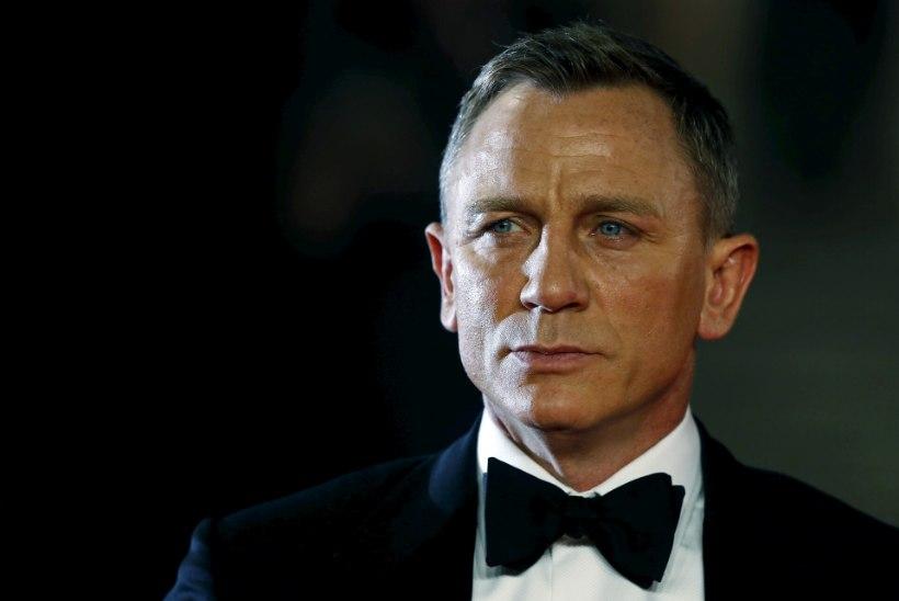PIILUME RAHAKOTTI: kui palju teenis Daniel Craig  enda rollide eest Bondi filmides?