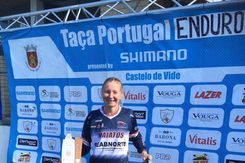 HEA TÖÖ: Meier võitis Portugalis enduro karikasarja etapi ja jätkab liidrina