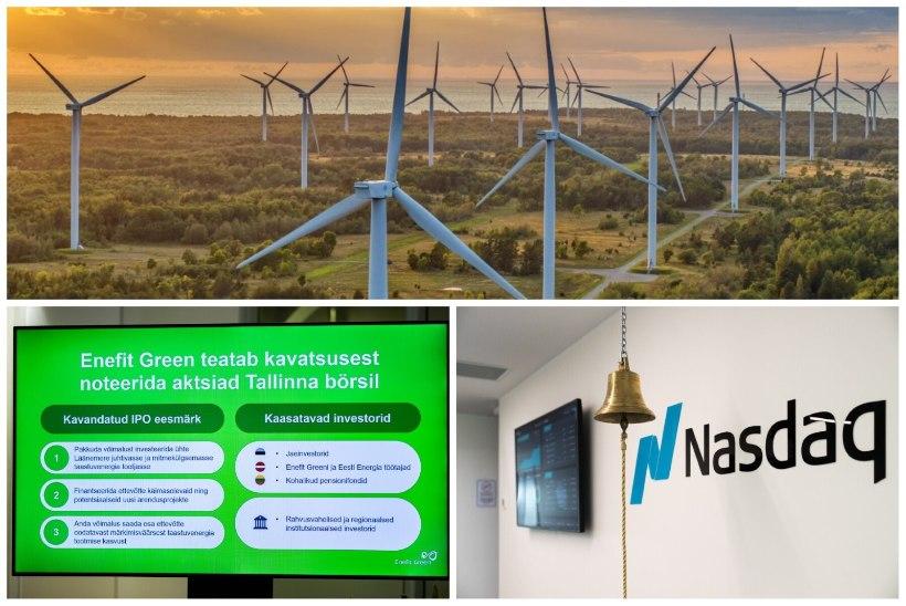 Algab Enefit Greeni aktsiate esmane avalik pakkumine