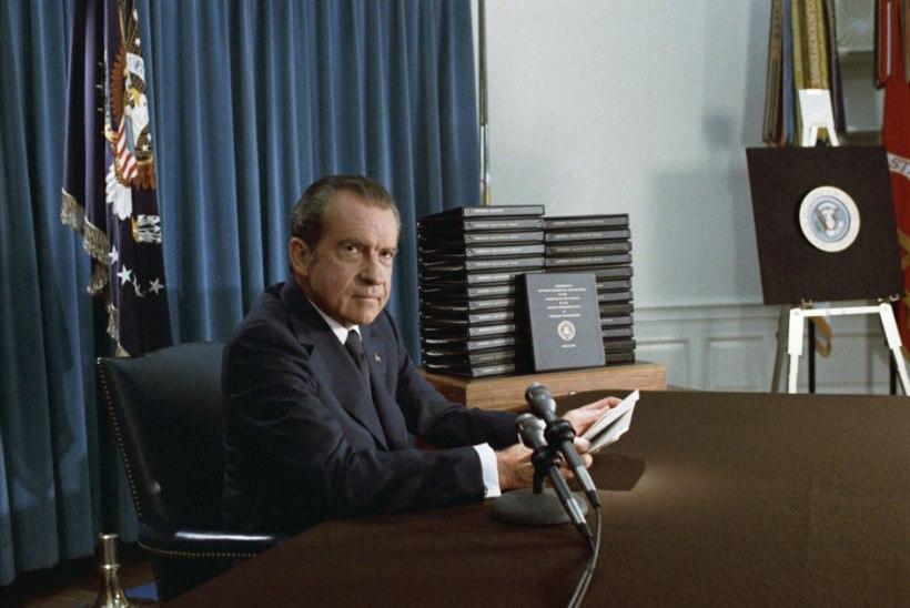 Tõnis Erilaiu lehesaba   Kuidas Nixon müstilist eesti miljonäri külastas