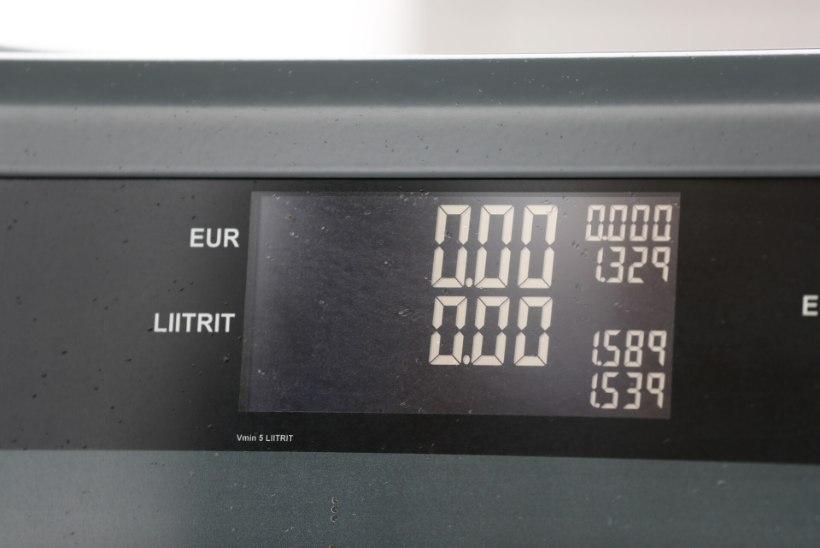 FOTOD   UUS REKORD! Nii kõrget kütuse hinda pole Eestis veel nähtud