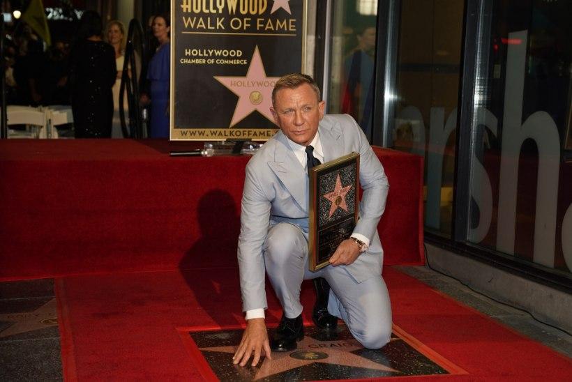 VIDEO | Daniel Craig sai Hollywoodi Kuulsuste alleele omanimelise tähe