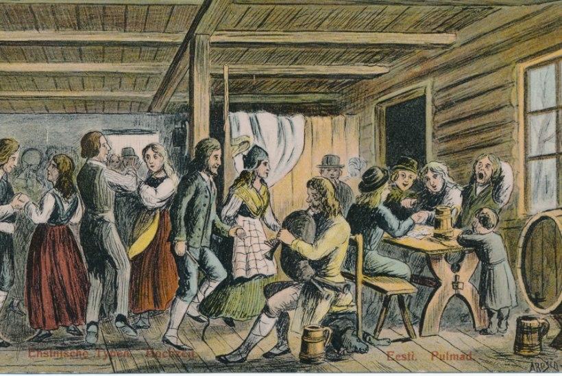 Vanade eestlaste kombeõigus: lesk oma naiseõde ripakile ei jätnud