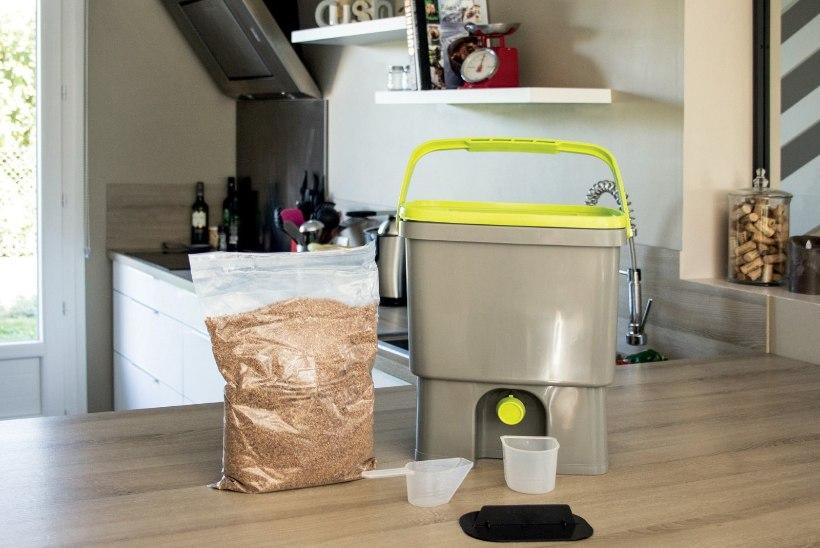 Kodune kompostikast Bokashi annab jäätmetele väärtuse