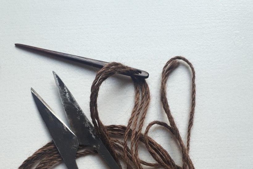 ERILINE TEHNIKA | Kuidas valmisid soojad rõivad enne, kui osati kududa ja heegeldada?