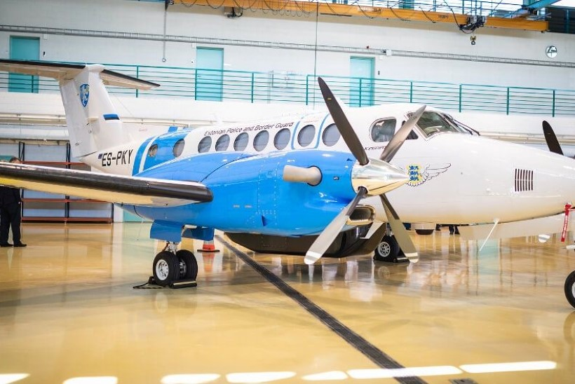 PPA lennuk tegi hädamaandumise Tallinna lennujaamas