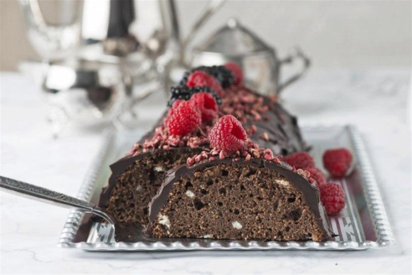 PÄRIS PATUNE KOOK | Šokolaadikeeks küpsiste ja mandlijahuga