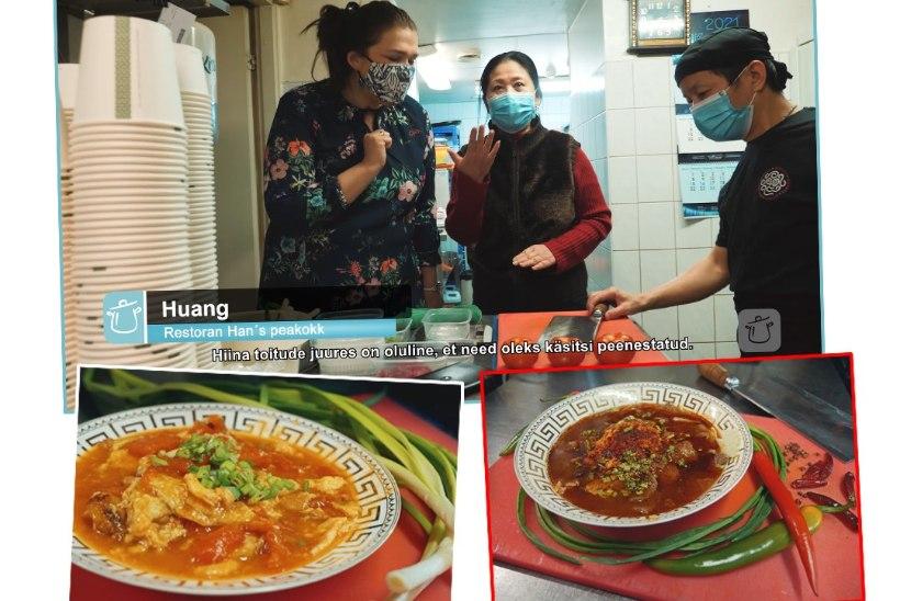 VIDEOÕPETUS | Restorani Han's peakokk õpetab tegema Hiina omletti tomatiga ja veiseliha Sichuani moodi