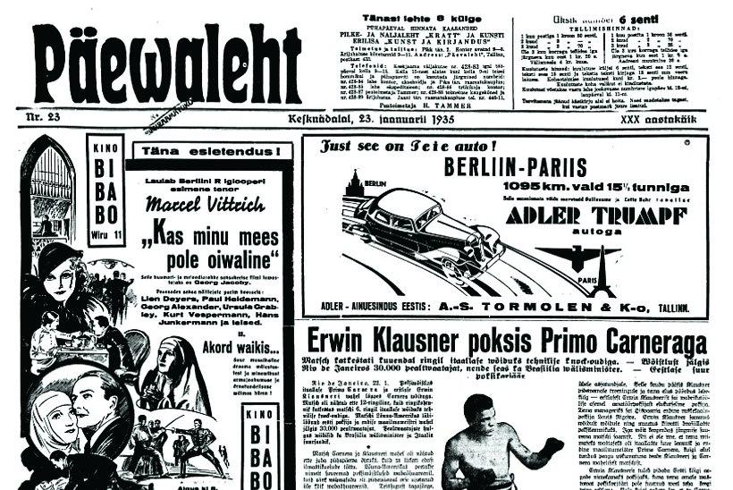 KUULSAKS VÕÕRAL MAAL: Eesti poksijat Erwin Klausnerit võrreldi Brasiilias piibli Simsoniga