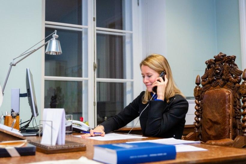 Kaja Kallas peaministritoolist: pole midagi teha, tuleb ära kannatada