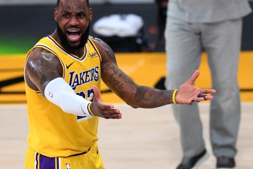 LeBron James püstitas rekordi, mille üle ta kindlasti õnnelik ei ole