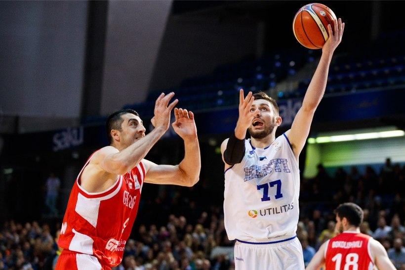 FIBA hindab Eesti korvpallikoondise šansse EMile jõudmiseks kõrgelt