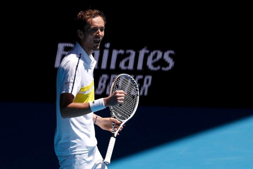 Austraalia lahtistel pääses veerandfinaali kolm Venemaa tennisemängijat