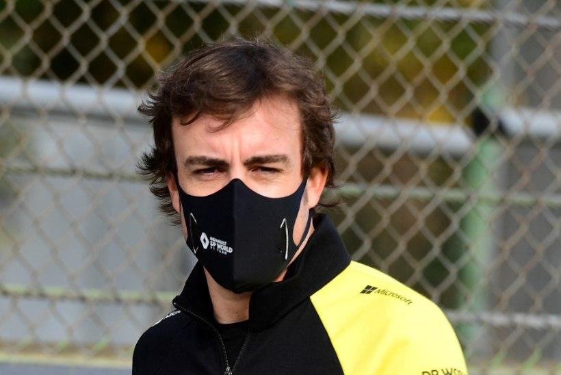 Fernando Alonso lubati haiglast koju