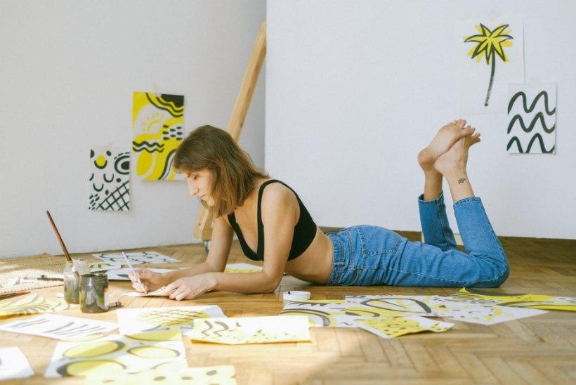 """""""MÕTTEKOHT""""  Kunst ja teraapia: kuidas loomist enda kasuks tööle panna?"""