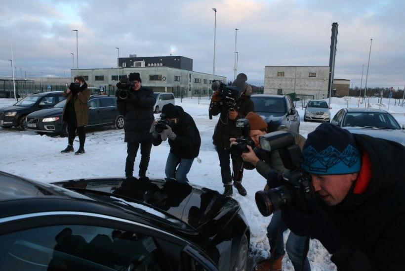 ÕL VIDEO JA FOTOD | Kersti Kracht pääses vanglast: vangla on väga huvitav kogemus, sain targemaks