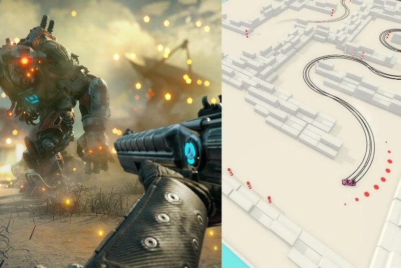 Epic Gamesi tasuta mängude seas leidub midagi nii driftikunnidele kui ka märulilembestele möllumeestele
