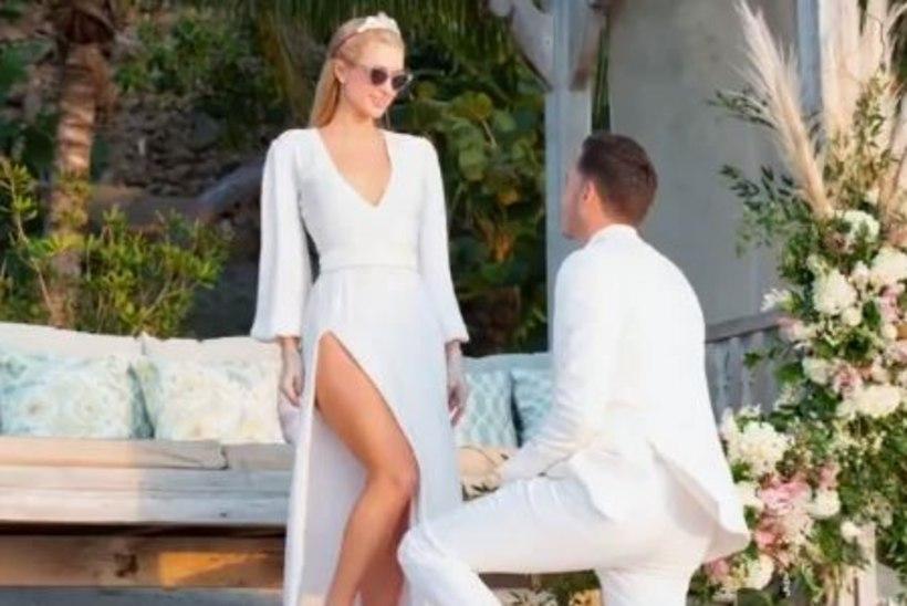 Paris Hilton kihlus oma 40. sünnipäeval neljandat korda