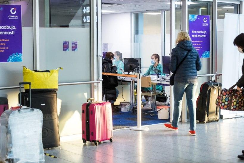 KRIMINAALMENETLUS OOTAB! Lennujaamas võeti vahele viis võltsitud koroonapaberiga reisijat