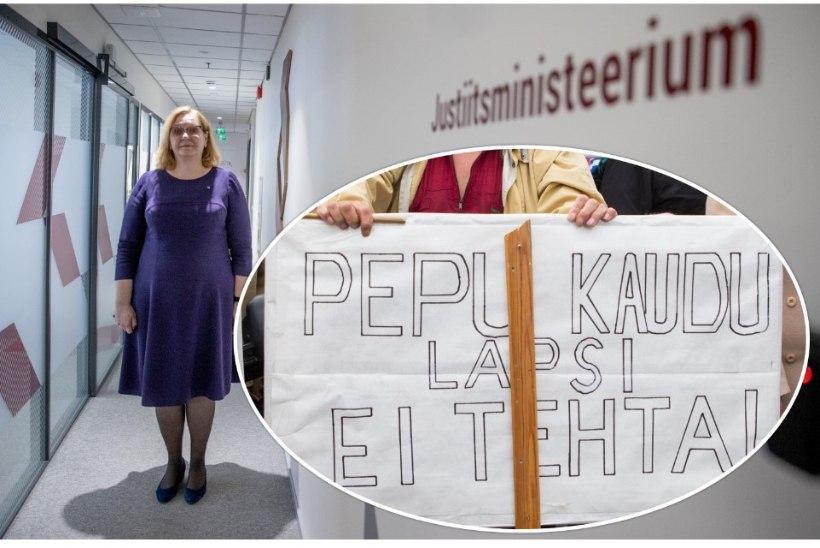 Onu Heino on päästetud? Justiitsminister Maris Lauri vaenukõne eelnõu lubab levitada sallimatuid arvamusi