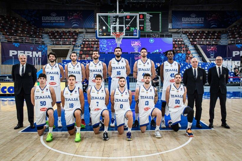 BLOGI JA GALERII   VÕIMAS! Suure edu maha mänginud Eesti korvpallikoondis alistas Itaalia lisaajal!