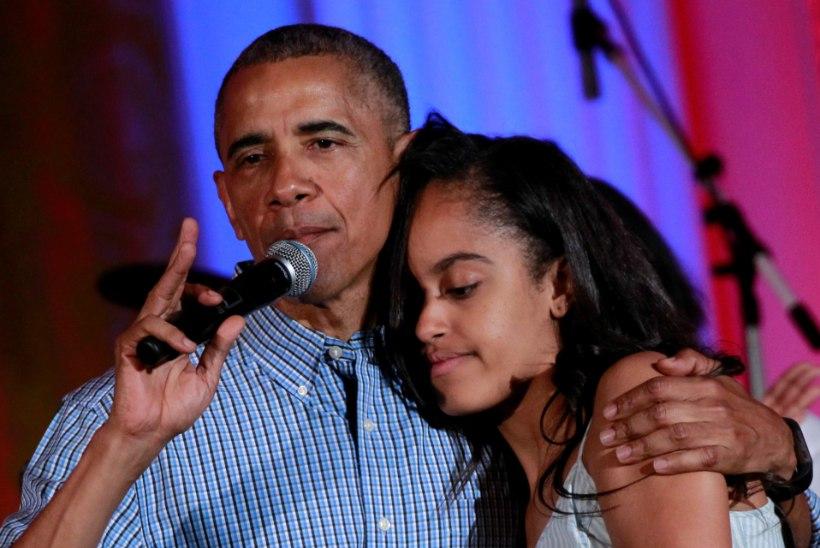 Obamade tütar hakkab koos superstaariga telesarja kirjutama
