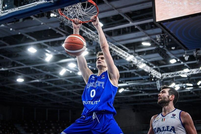 7 VÕTIT |Eesti noored korvpallurid tõestasid Itaalia vastu, et nad on mängumehed