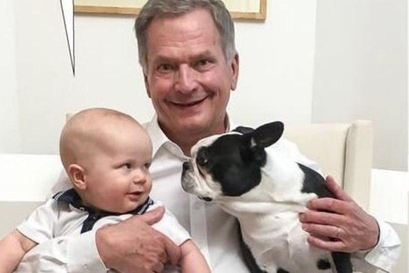 PALJU ÕNNE! Soome presidendi poeg sai juba kolmeseks!