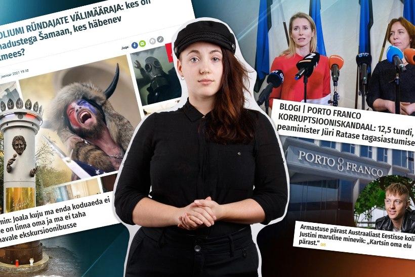 KUU KOKKUVÕTE | Tormiline aasta algus: kukkusid Eesti valitsus ja president Trump, Jaak Joala kuju ümber käib kaklus