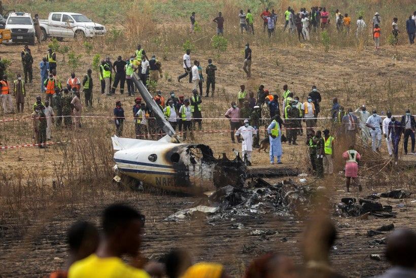 Nigeerias hukkus lennuõnnetuses seitse inimest
