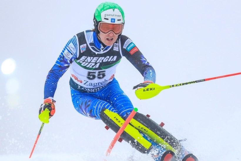 Tormis Laine lõpetas MMi avalaskumise 34. kohaga, ent teise sõidu katkestas