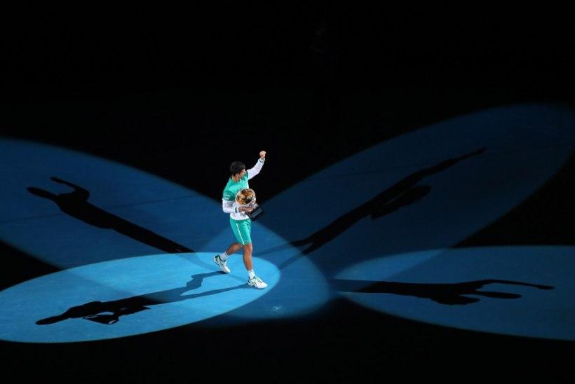 Austraalia lahtistel triumfeeris taaskord Djokovic, kes muu