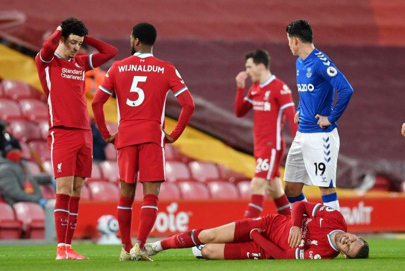 """Liverpool sai taas tappa. """"Nad on selle meeskonna hale vari, keda oleme kolmel viimasel aastal näinud."""""""
