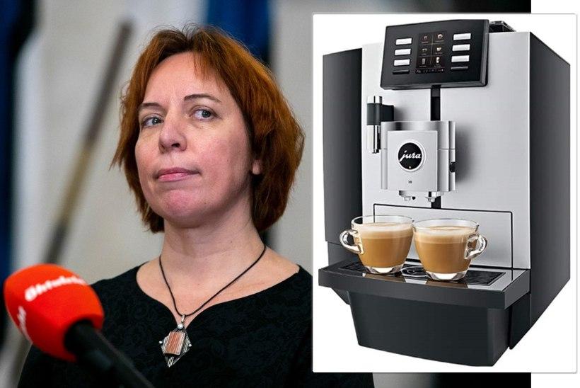 Luksus maksumaksja kulul: Repsi kodus vaaritas kohvi tuhandeid eurosid maksev tippmudel