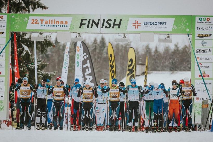 Tallinna suusamaraton toimub sulailmade kiuste