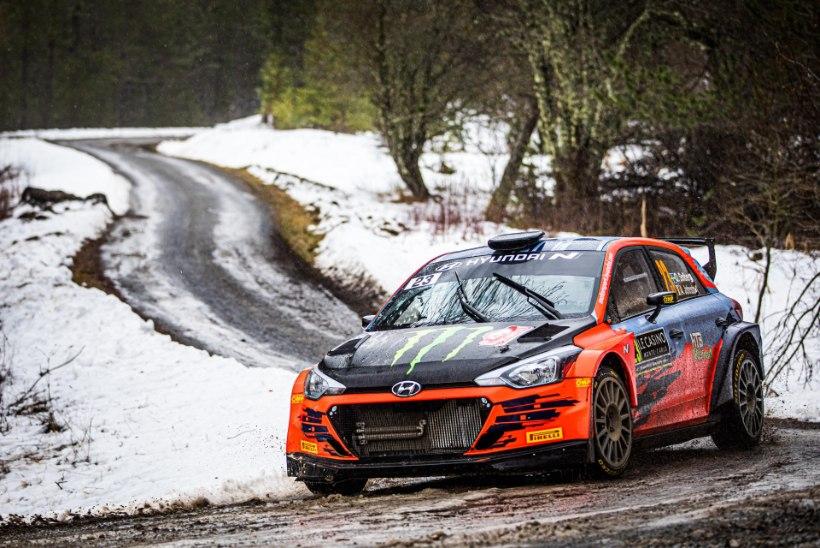 KOROONA WRC-RALLIL | Autoralli tulevikustaar pidi tegema Arctic Rally eel olulise muudatuse