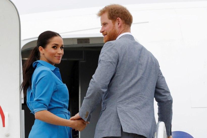 Harry ja Meghan tegid pärast beebiootusest teatamist üllatusetteaste