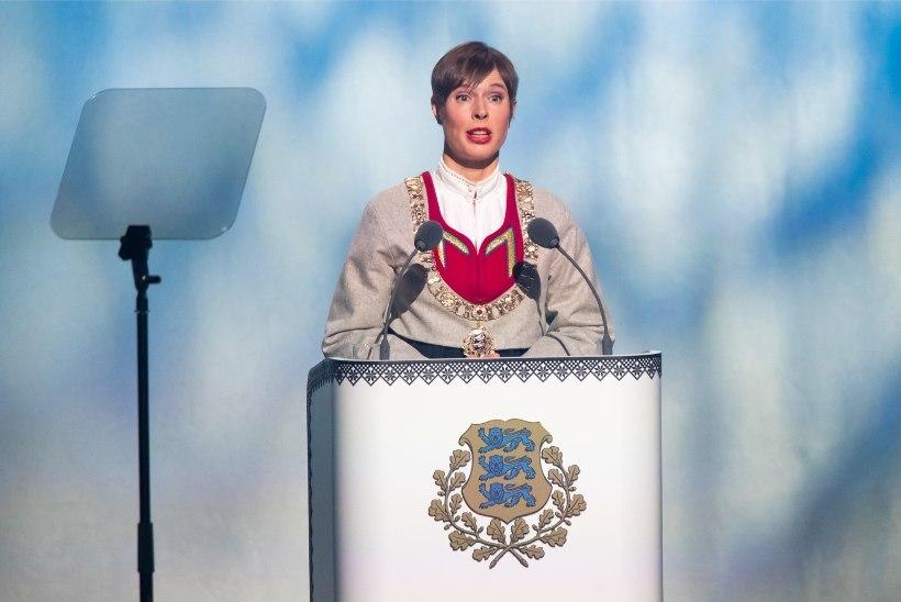 """President Kersti Kaljulaid: """"Teeme ausat, hoolivat, korruptsioonivaba, enesekindlat Eestit!"""""""