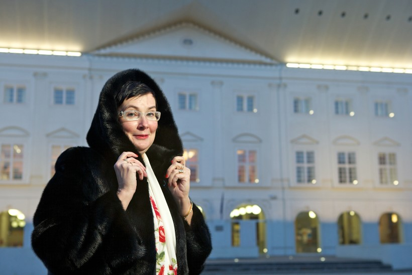 Katri Raik   Aitäh, proua president, aitäh, naša Kersti!