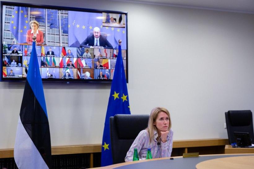 Kallas ülemkogul: liikmesriigid ei tohiks piiride sulgemisega pöörduda tagasi möödunud kevadisse, segasesse olukorda