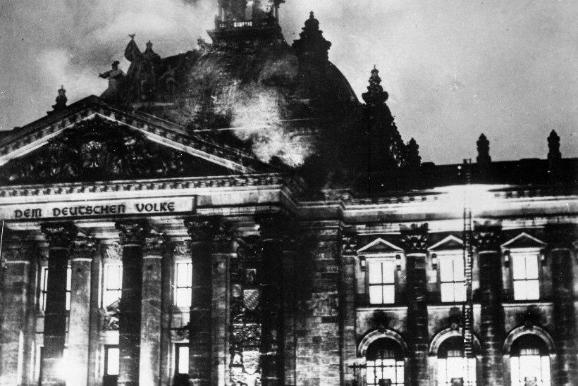 RIIGIPÄEVAHOONE PÕLENG: kas tõesti kommunistide ja natside ühistöö?