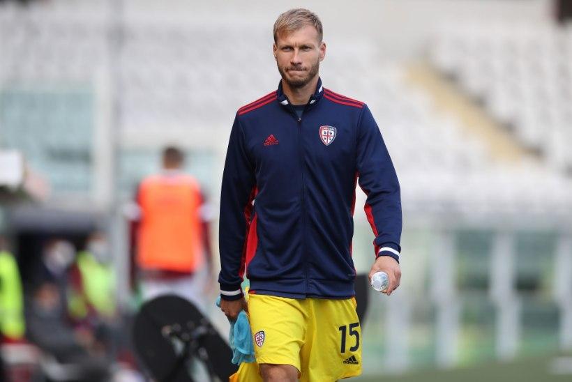 Klavan pääses üle pika aja pingile ja Cagliari sai viimaks võidulisa