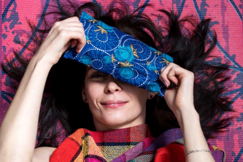 Mõnusaks lõõgastuseks: valgust blokeeriv lavendliga silmapadi