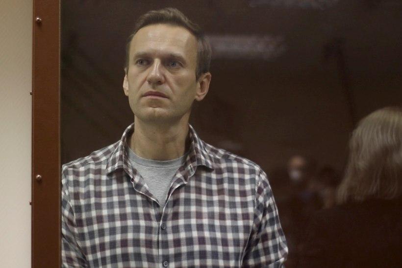 Navalnõid ei pekstud vangilaagrisse saabudes