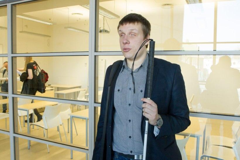 Nägemispuudega Jakob Rosin: suure lumega pole ka taksosõit lihtne