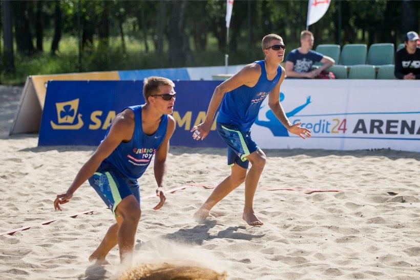 Eesti rannavollepaarid segasid Doha MK-etapiks kaarte