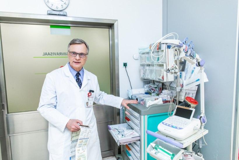 ARSTILE VISATI NÄKKU TUNDMATUT VEDELIKKU! Peep Talving sattus õhtul haiglast lahkudes füüsilise rünnaku ohvriks